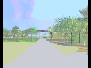 play video - A virtual walk through Kingscliff Central Park - medium resolution